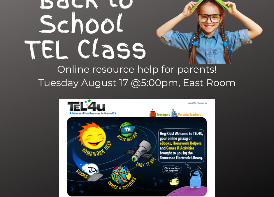 Back-to-School TEL Class