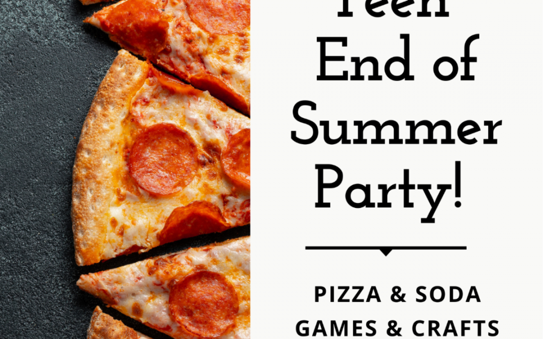 Teen End of Summer Party