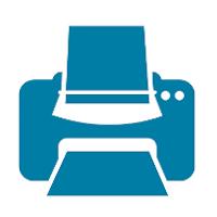 Icon of a printer