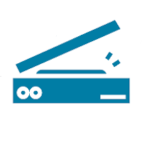 Icon of a scanner