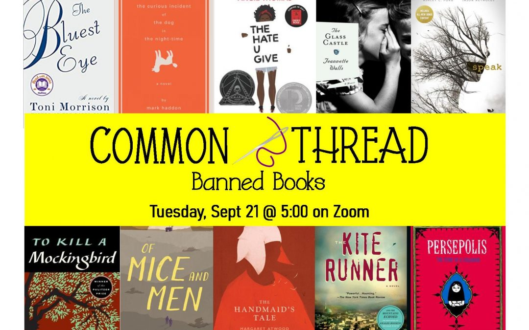 Common Thread – Banned Books