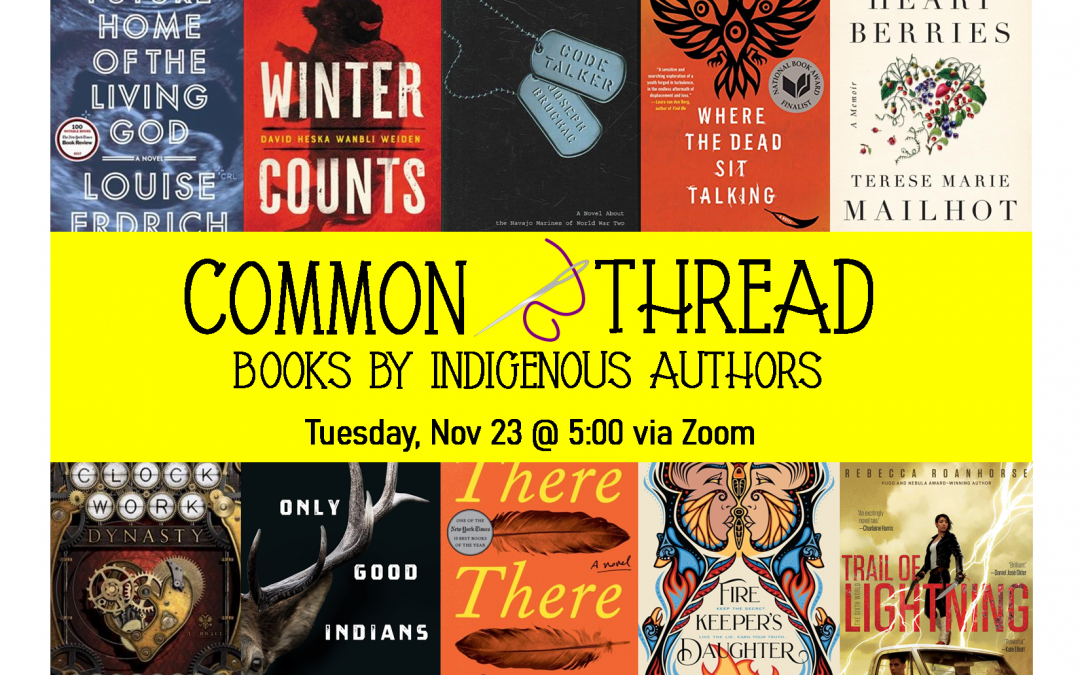Common Thread – Books by Indigenous Authors