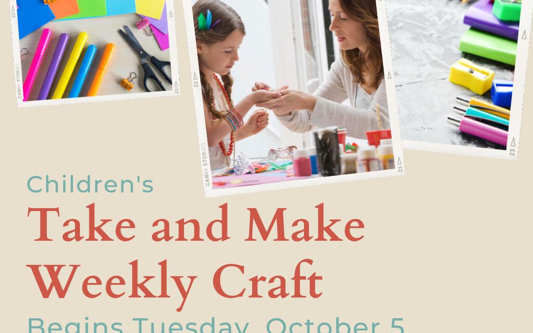 Take and Make Craft